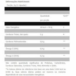 Ômega Fish Oil 1000mg (120 Caps)